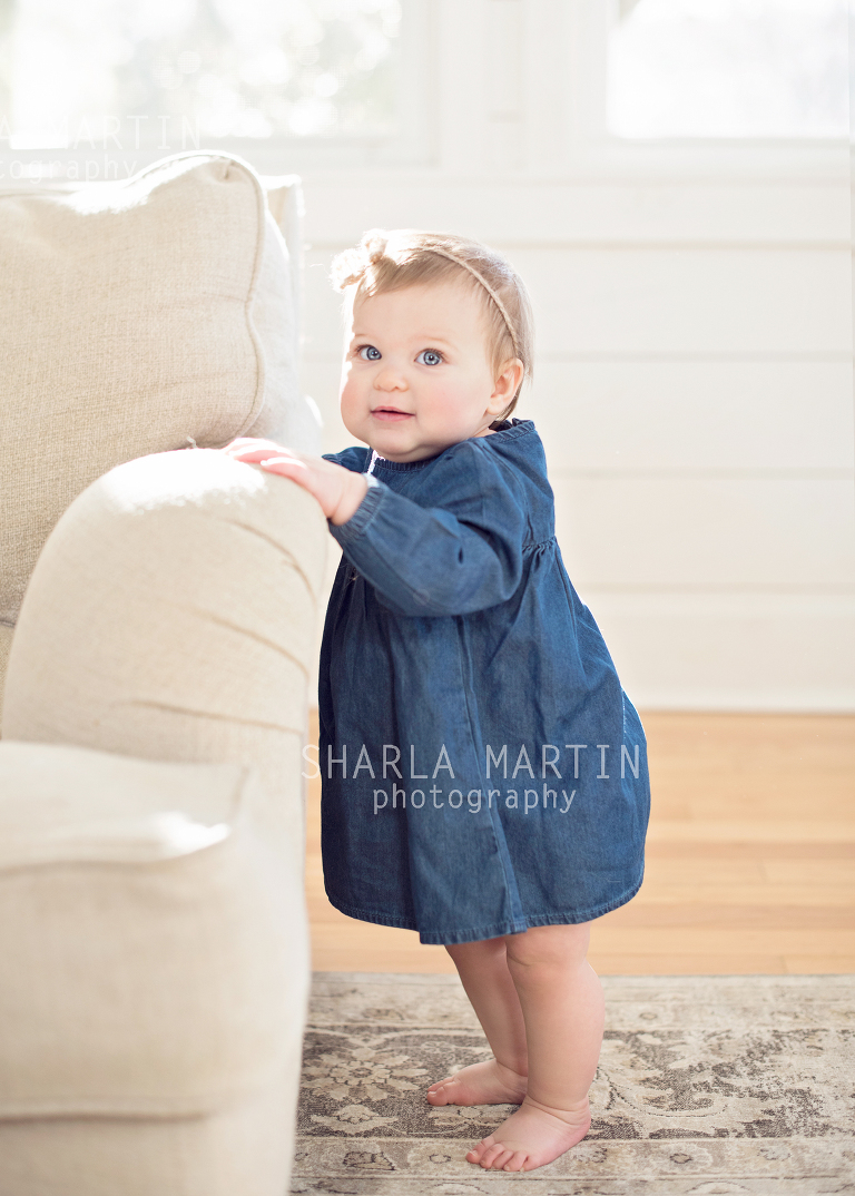 Nine Month Baby Photo Shoot