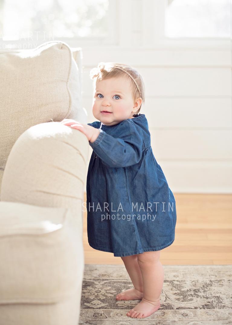 Nine Month Baby Photo Shoot