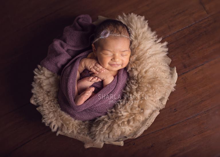 austin in-home newborn photographer