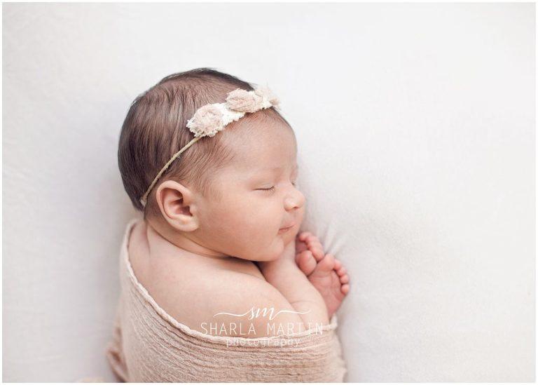 newborn baby photos in home austin